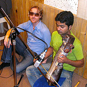 Recording in Mumbai
